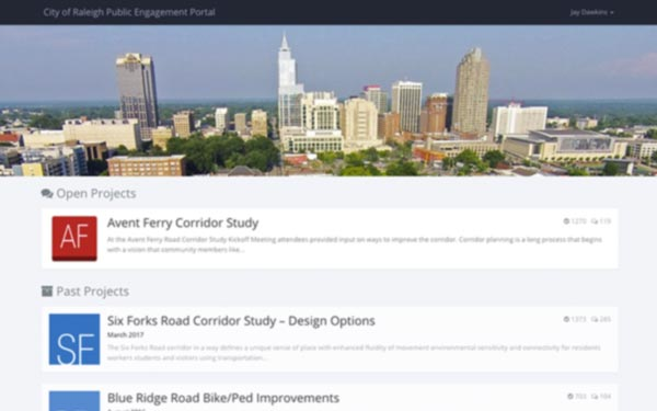 Multi-Project Engagement Hub
